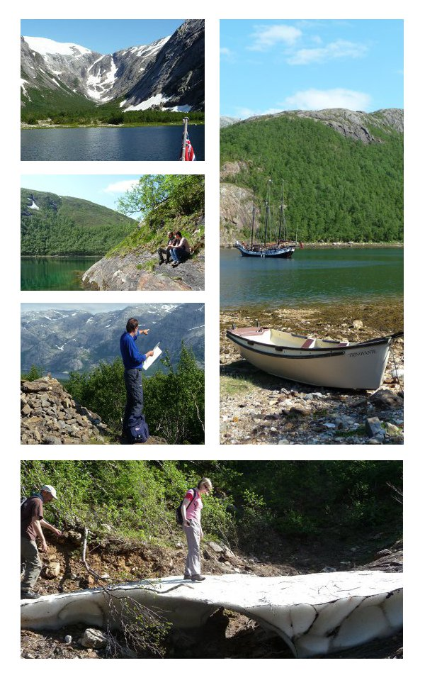 Exploring Nordfjord on the Arctic Circle, Norway