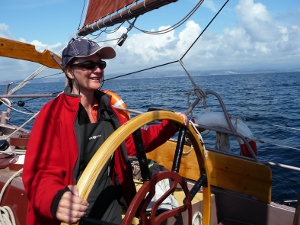 Sailing from Stavanger To Kristiansand, Norway