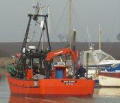 On The Slip Way - Cockle Fishing Boat The 'Wash Pilgrim'
