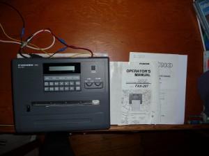 furuno fax 207