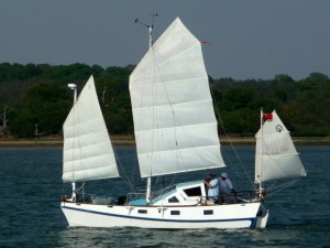 Catamaran Pelican of Hamble