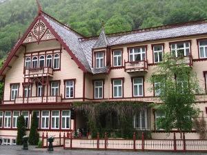 Oye hotel in Norangsfjorden