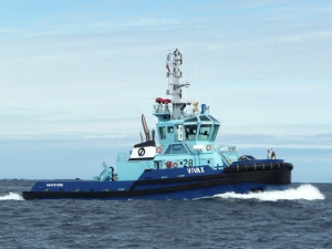 The Norwegian tug Vivax