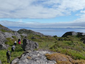 Adventure holiday trekking in Norway.