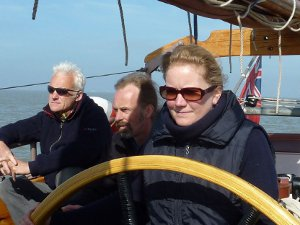 Me steering Trinovante