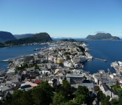 Visiting Alesund Norway's Art Nouveau Town With Two Walking Maps