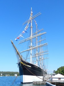 Tall Ship Pommern - four masted barque.