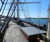 Tall Ship Pommern, four masted barque.